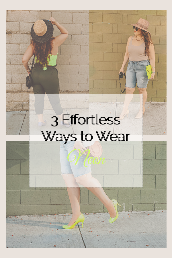 3 Effortless Ways to Wear Neon