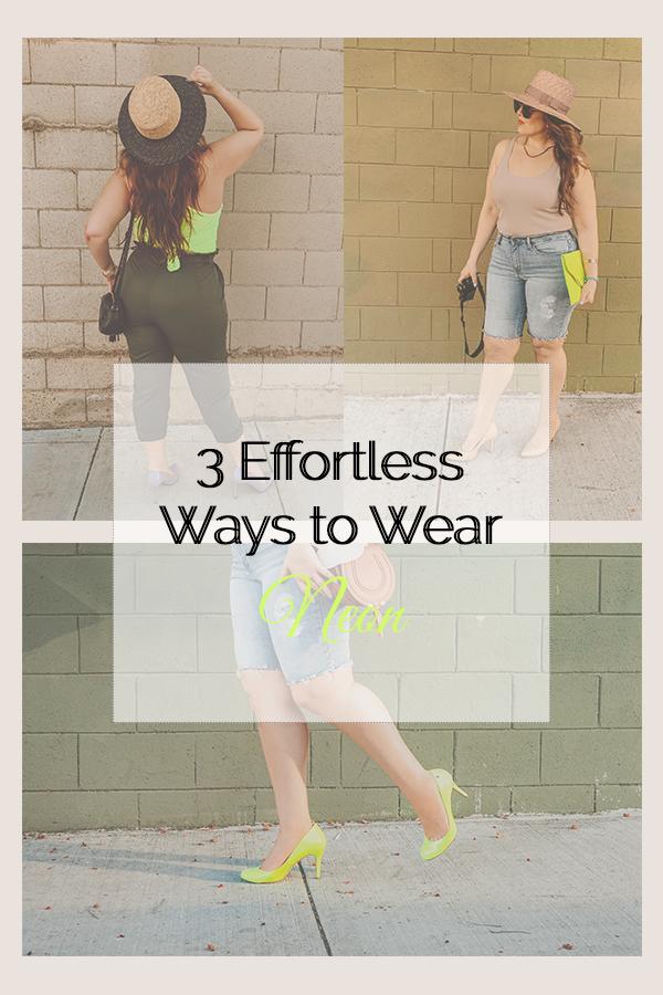 3 Effortless Ways to WearNeon